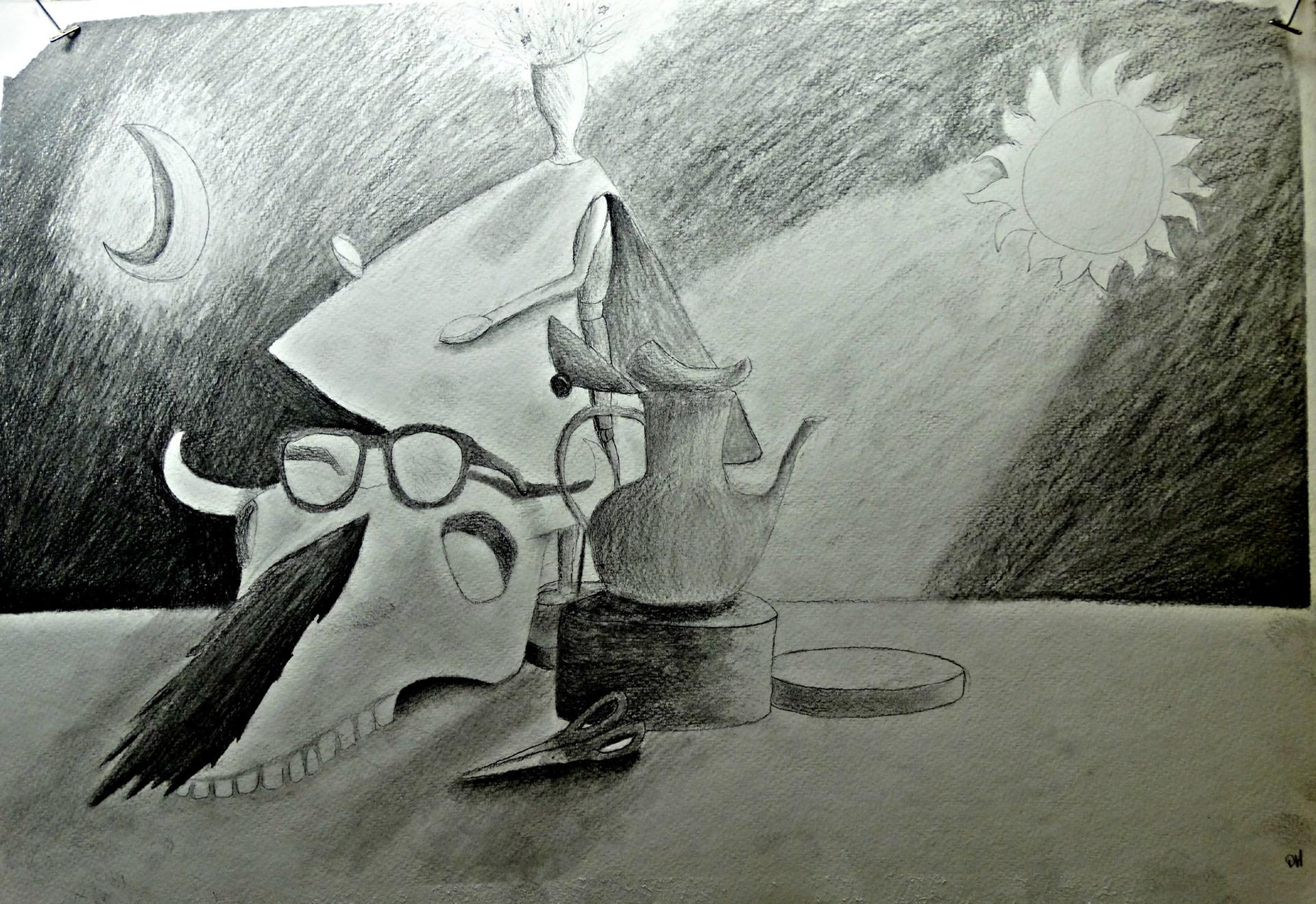Artist: Destiny Herceg, Grade 10 at McGuffey HS