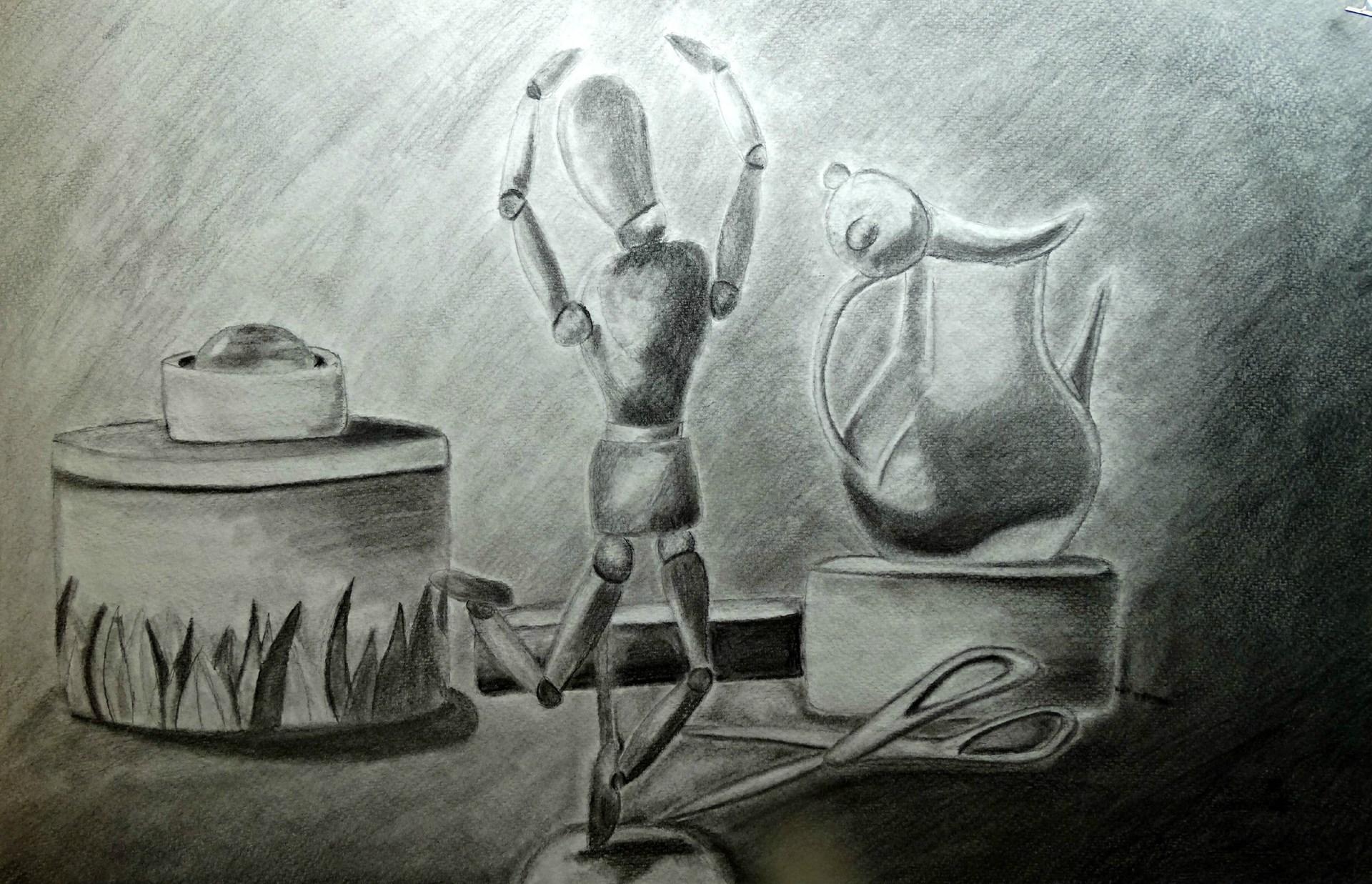 Artist: Samantha Bedillion, Grade 10 at McGuffey HS