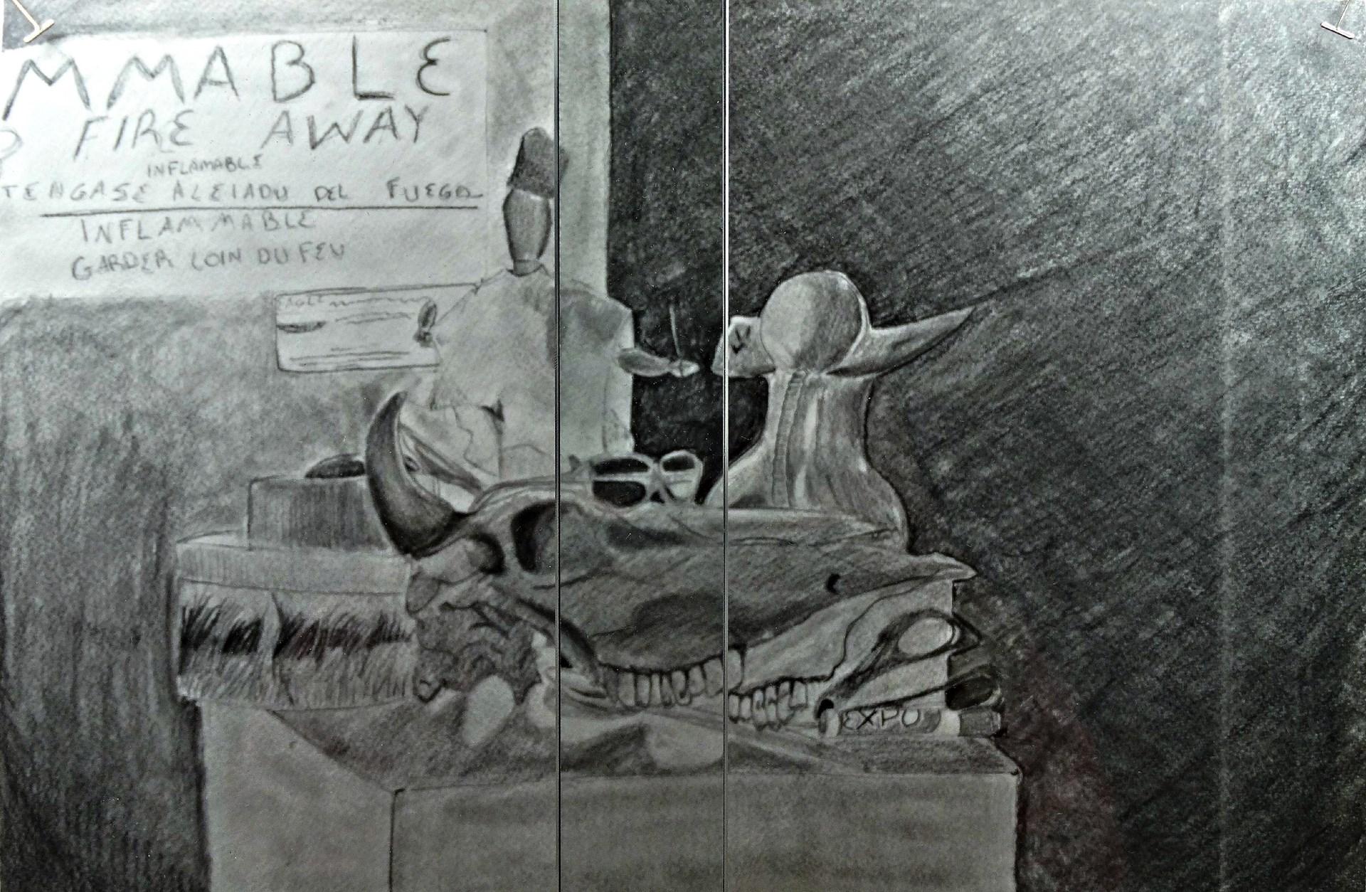 Artist: Emily Cole, Grade 11 at McGuffey HS