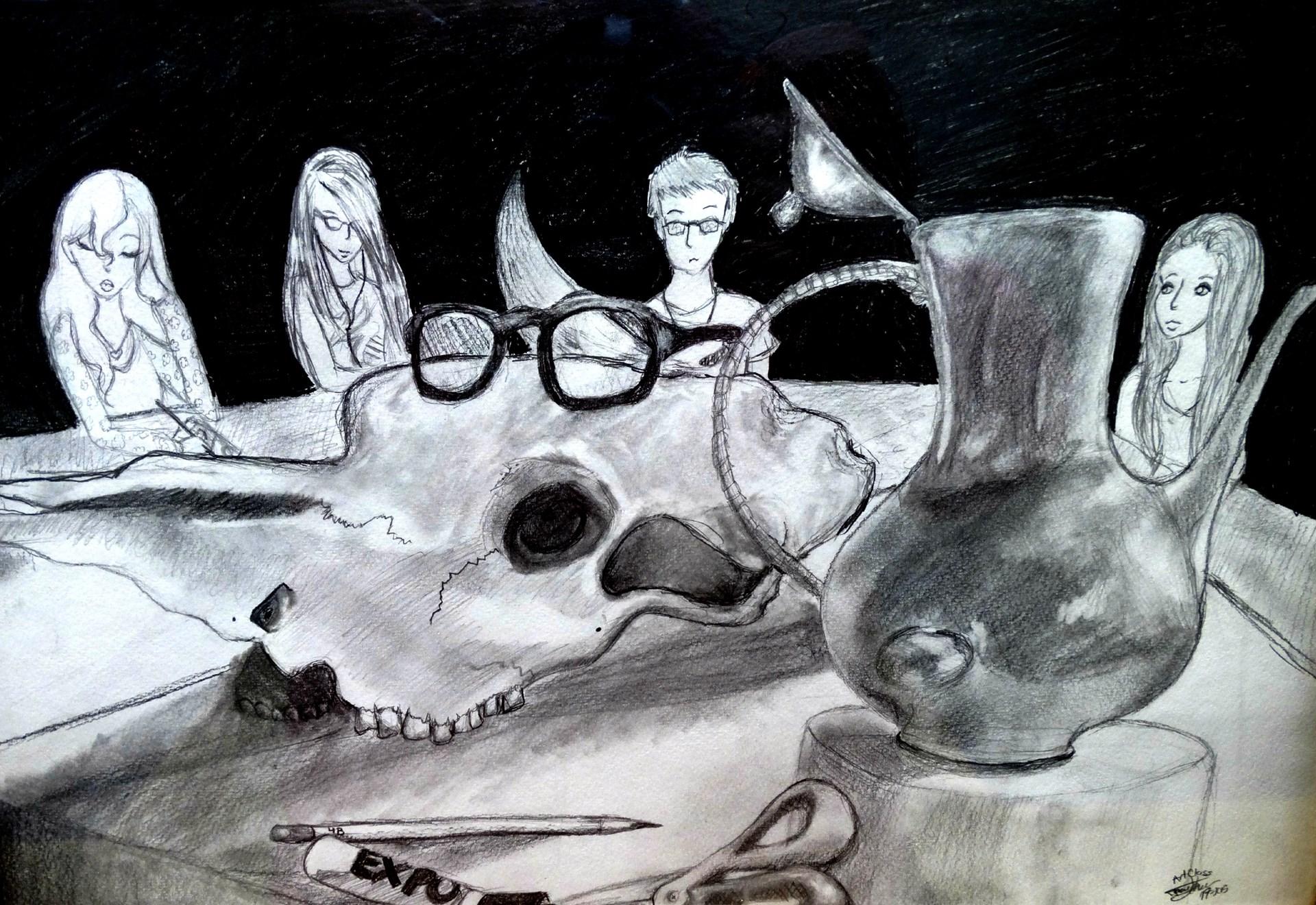 Artist: Tamara Lehew, Grade 11 at McGuffey HS