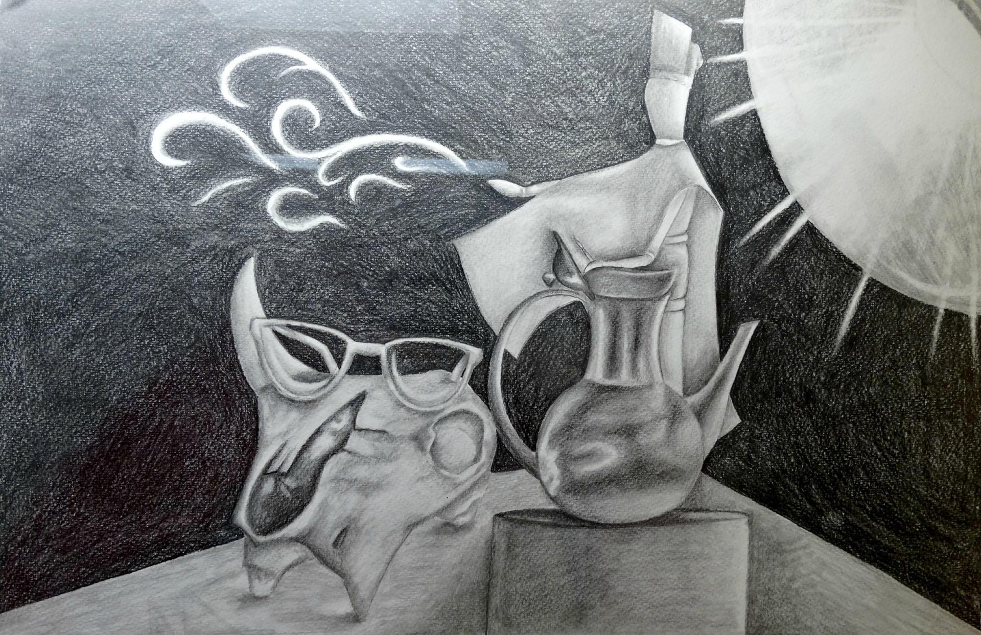 Artist: Jacqueline Foran, Grade 12 at McGuffey HS