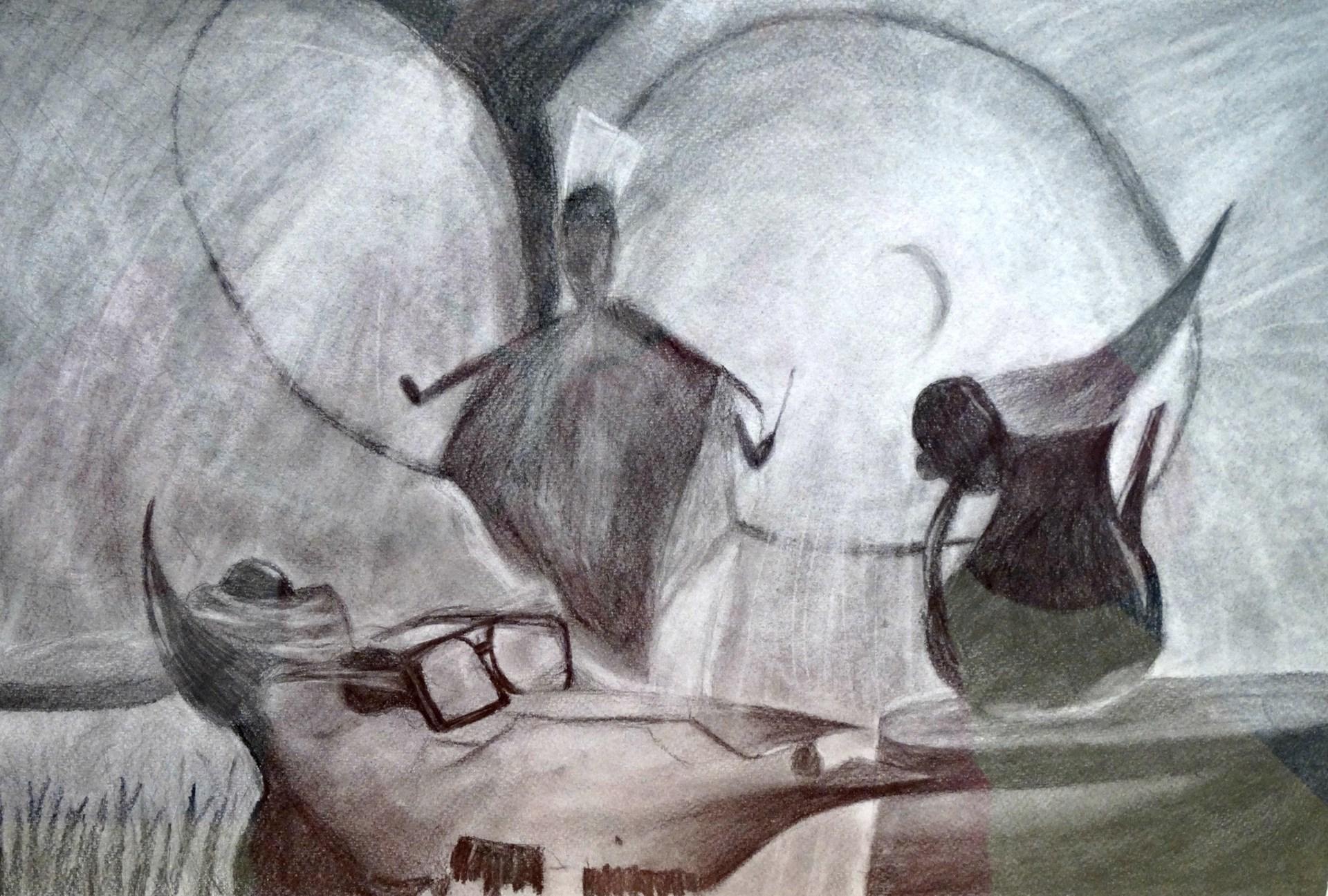Artist: Paige Smith, Grade 12 at McGuffey HS